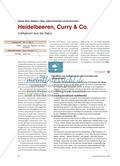 Heidelbeeren, Curry & Co. - Indikatoren aus der Natur Preview 1