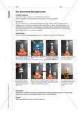 Chlorwasserstoffgas und Wasser - Verschiedene Experimente zur Protolyse Preview 5