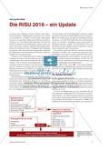 Die RiSU 2016 – ein Update Preview 1