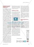 Spritzige Experimente mit Gasen - Einfache Darstellung und Nachweisreaktionen von Gasen in Kunststoffspritzen Preview 2