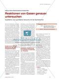 Reaktionen von Gasen genauer untersuchen - Qualitative und quantitative Versuche mit der Spritztechnik Preview 1