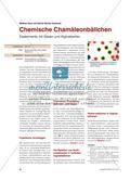 Chemische Chamäleonbällchen - Experimente mit Gasen und Alginatperlen Preview 1