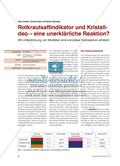 Rotkrautsaftindikator und Kristalldeo – eine unerklärliche Reaktion?: Mit Unterstützung von Modellen eine komplexe Farbreaktion erklären Preview 1