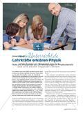 Lehrkräfte erklären Physik - Rolle und Wirksamkeit von Lehrererklärungen im Physikunterricht Preview 1