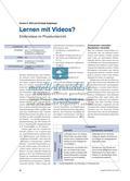 Lernen mit Videos? - Erklärvideos im Physikunterricht Preview 1