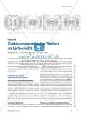 Elektromagnetische Wellen im Unterricht - Didaktische und methodische Anregungen Preview 1