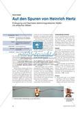 Auf den Spuren von Heinrich Hertz - Erzeugung und Nachweis elektromagnetischer Wellen mit einfachen Mitteln Preview 1