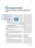 Mikroskopische Optik - Phänomene der Wellenausbreitung als Folge der Wechselwirkung zwischen Licht und Atomen – ein Fachtext für Schülerinnen und Schüler Preview 1