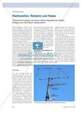 Radiowellen, Reisbrei und Radar - Technische Kontexte, bei denen elektromagnetischen Wellen Energie und Information transportieren Preview 1