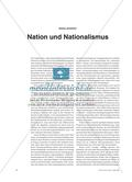 Nation und Nationalismus Preview 1