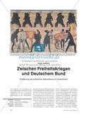 Zwischen Freiheitskriegen und Deutschem Bund - Entstehung des politischen Nationalismus in Deutschland Preview 1
