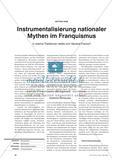 Instrumentalisierung nationaler Mythen im Franquismus - In welche Traditionen stellte sich General Franco? Preview 1