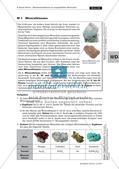 Nachweisreaktionen: Mineralien Preview 1