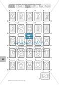 Arbeiten mit dem Wörterbuch: Übungen zum Alphabet, Lernspiel Preview 4