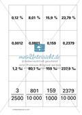 Legespiele: Körperquartett, Bruchrechnen, Prozentrechnung Preview 10