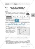 Unterscheidung  antiproportionaler und proportionaler Zuordnungen Preview 6