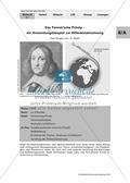 Das Fermat'sche Prinzip: Anwendungsbeispiel zur Differenzialrechnung Preview 1