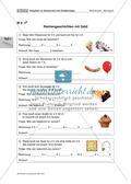 Aufgaben zu Geldwerten und Geldbeträgen Preview 16