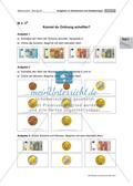 Aufgaben zu Geldwerten und Geldbeträgen Preview 7