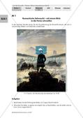 Lyrik der Romantik: Grundstimmung und Sehnsucht von Eichendorff Preview 1