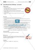 Lernspiel: Wiederholung von Grammatik, Wortschatz und Landeskunde Preview 2