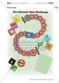 Lernspiel: Wiederholung von Grammatik, Wortschatz und Landeskunde Preview 3