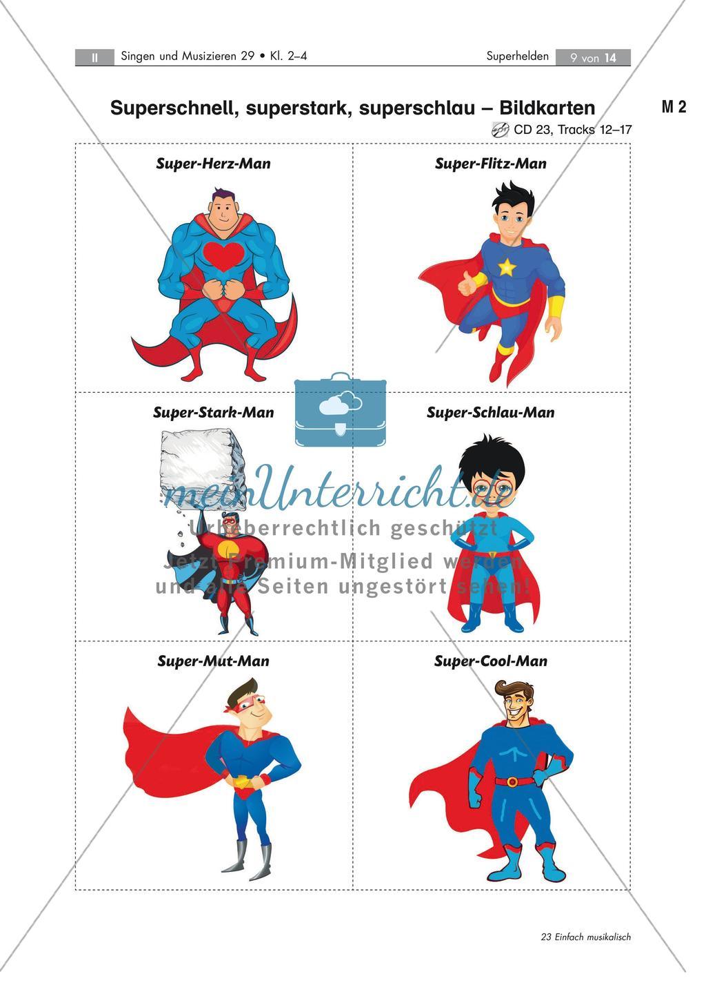 Superhelden Musik