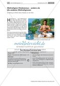 Religion-Ethik_neu, Sekundarstufe I, Weltreligionen und Gottesvorstellungen, Hinduismus, Hinduismus, Weltreligionen, interreligiöses Lernen, interkulturelles Lernen