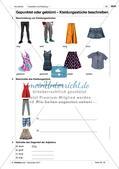 Kleidungsstücke benennen und kaufen: Wortschatz einführen Preview 4