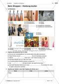Kleidungsstücke benennen und kaufen: Wortschatz einführen Preview 6