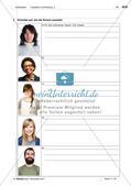 Das Aussehen von Personen beschreiben: Wortschatz einführen Preview 6
