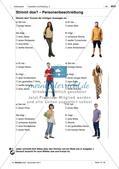 Das Aussehen von Personen beschreiben: Anwendung und Übung von Wortschatz Preview 2