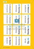 Unser Tag: Wort-Bild-Karten Preview 2