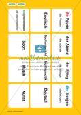 Unser Tag: Wort-Bild-Karten Preview 4