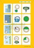Unser Tag: Wort-Bild-Karten Preview 5