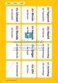 Unser Tag: Wort-Bild-Karten Preview 6
