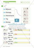 Unser Tag: Material Niveaustufe 1 Preview 4