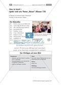 Englisch_neu, Sekundarstufe I, Verfügung über sprachliche Mittel, Mündliche Produktion und Rezeption, Lesen und Literatur, Interkulturelle Kompetenzen und Landeskunde, Schreiben, Wortschatz und Idiomatik, Produktion mündlicher Texte, Erschließung von Texten, Soziokulturelles Orientierungswissen, Schreibverfahren, Wortschatz, An Gesprächen teilnehmen, Zusammenhängendes Sprechen, Lexikalische Einheiten, Handlungsorientierter Umgang mit Texten, Alltagsleben, Kreatives Schreiben, Themenspezifische Wortfelder, Berichten und Beschreiben, Szenische Verfahren, Reisen, Schreiben zu visuellen Impulsen, American Cities, British sights, Find someone who, Trimino, Word search, Going on a cruise, Going by plane, Role play, Travelling by car, Activity