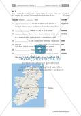 Vorbereitung einer Abschlussprüfung zum Thema Irland: Wortschatz und Grammatik Preview 2