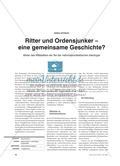 Ritter und Ordensjunker – eine gemeinsame Geschichte?: Bilder des Mittelalters als Teil der nationalsozialistischen Ideologie Preview 1