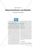 Rekonstruktionen und Modelle - Vergangenes wiederhergestellt Preview 1