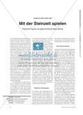 Geschichte_neu, Sekundarstufe I, Vor- und Frühgeschichte, Stein- und Metallzeit, Altsteinzeit, Lanzen, Faustkeil, Steinzeithöhle