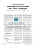 Virtuelle Rekonstruktionen zerstörter Synagogen - Hintergründe, Modellanalyse und -reflexion am Beispiel Dortmunds Preview 1