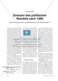 """Grenzen des politischen Wandels nach 1969 - """"Mehr Demokratie wagen"""" mit """"Radikalenerlass"""" und """"Berufsverboten""""? Preview 1"""
