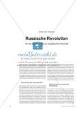 Russische Revolution - Von der aristokratischen zur sozialistischen Herrschaft Preview 1