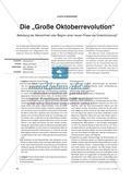 """Die """"Große Oktoberrevolution"""" - Befreiung der Menschheit oder Beginn einer neuen Phase der Unterdrückung? Preview 1"""