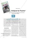Ein fiktiver Zeitungsbericht: Schreiben über den Ersten Weltkrieg Preview 1