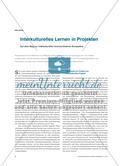 Interkulturelles Lernen in Projekten - Auf dem Weg zur interkulturellen kommunikativen Kompetenz Preview 1