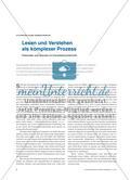 Lesen und Verstehen als komplexer Prozess - Potenziale und Grenzen im Französischunterricht Preview 1