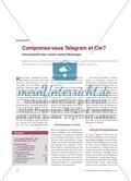 Comprenez-vous Telegram et Cie ? - Hörverstehen über mobile Instant Messenger Preview 1